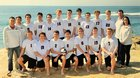 La Jolla Vikings Boys Varsity Volleyball Spring 16-17 team photo.