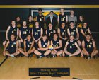 Flowing Wells Caballeros Boys Varsity Volleyball Spring 16-17 team photo.