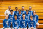 West Hills Wolf Pack Boys Varsity Volleyball Spring 16-17 team photo.