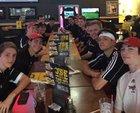 Middle Creek Mustangs Boys Varsity Tennis Spring 15-16 team photo.