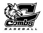 Combs Coyotes Boys Varsity Baseball Spring 15-16 team photo.