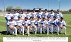 Longmont Trojans Boys Varsity Baseball Spring 15-16 team photo.