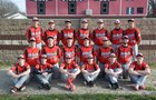 Morrisonville Mohawks Boys Varsity Baseball Spring 15-16 team photo.