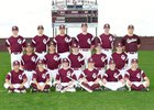 Cinco Ranch Cougars Boys Freshman Baseball Spring 17-18 team photo.