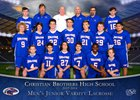 Christian Brothers Falcons Boys JV Lacrosse Spring 17-18 team photo.