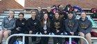 Carrollton Trojans Girls Varsity Tennis Spring 16-17 team photo.