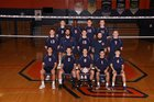 Oswego Panthers Boys Varsity Volleyball Spring 17-18 team photo.