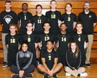 Marian Catholic Spartans Boys Varsity Volleyball Spring 17-18 team photo.