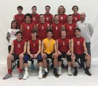 Lincoln-Way Central Knights Boys Varsity Volleyball Spring 17-18 team photo.