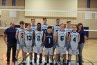 Somerset Sky Pointe Eagles Boys Varsity Volleyball Spring 17-18 team photo.