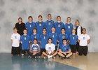 Sandburg Eagles Boys Varsity Volleyball Spring 17-18 team photo.