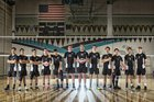 Deer Valley Wolverines Boys Varsity Volleyball Spring 17-18 team photo.