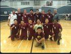 Golden Valley Cougars Boys Varsity Volleyball Spring 17-18 team photo.