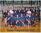Bentley Phoenix Boys Varsity Volleyball Spring 17-18 team photo.