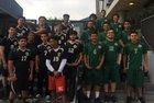 Hawkins Hawks Boys Varsity Volleyball Spring 17-18 team photo.