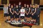 Rio Hondo Prep Kares Boys Varsity Volleyball Spring 17-18 team photo.