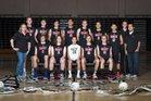 Hart Indians Boys Varsity Volleyball Spring 17-18 team photo.