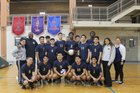 Rickover Naval  Boys Varsity Volleyball Spring 17-18 team photo.