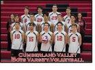 Cumberland Valley Eagles Boys Varsity Volleyball Spring 17-18 team photo.