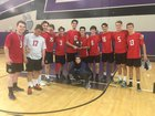 Classical Academy Caimans Boys Varsity Volleyball Spring 17-18 team photo.