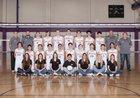 Valencia Vikings Boys Varsity Volleyball Spring 17-18 team photo.