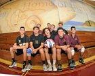 Point Loma Pointers Boys Varsity Volleyball Spring 17-18 team photo.