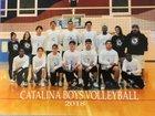 Catalina Trojans Boys Varsity Volleyball Spring 17-18 team photo.