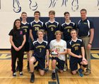 The Vanguard School Gold Coursers Boys Varsity Volleyball Spring 17-18 team photo.