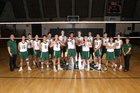 St. Patrick-St. Vincent Bruins Boys Varsity Volleyball Spring 17-18 team photo.