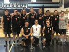 Roseville Tigers Boys Varsity Volleyball Spring 17-18 team photo.