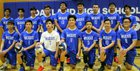 Oakland Wildcats Boys Varsity Volleyball Spring 17-18 team photo.