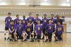 Oakland Tech Bulldogs Boys Varsity Volleyball Spring 17-18 team photo.