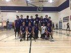 Millennium Tigers Boys Varsity Volleyball Spring 17-18 team photo.