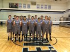 Horizon Honors Eagles Boys Varsity Volleyball Spring 17-18 team photo.