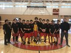 De Anza Dons Boys Varsity Volleyball Spring 17-18 team photo.