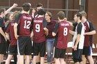 Cheyenne Mountain Maroon Indians Boys Varsity Volleyball Spring 17-18 team photo.