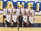 Anaheim Colonists Boys Varsity Volleyball Spring 17-18 team photo.