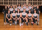 Red Mountain Mountain Lions Boys Varsity Volleyball Spring 17-18 team photo.