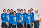 West Hills Wolf Pack Boys Varsity Volleyball Spring 17-18 team photo.