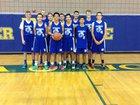 Marana Tigers Boys JV Basketball Winter 15-16 team photo.