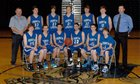 North Lincoln Knights Boys JV Basketball Winter 15-16 team photo.