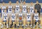 Carroll Chargers Boys JV Basketball Winter 15-16 team photo.