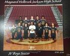 Jackson Jaguars Boys JV Soccer Spring 18-19 team photo.