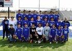 Rogers Mountaineers Boys JV Soccer Spring 18-19 team photo.