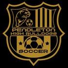 Pendleton Bulldogs Boys JV Soccer Spring 18-19 team photo.