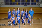 Ferndale Golden Eagles Girls Freshman Basketball Winter 18-19 team photo.