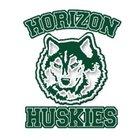 Horizon Huskies Girls Freshman Basketball Winter 18-19 team photo.