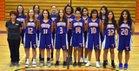 Thunderbird Chiefs Girls Freshman Basketball Winter 18-19 team photo.