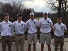 T.C. Roberson Rams Boys Varsity Golf Spring 15-16 team photo.