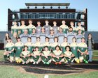 River Bluff Gators Boys Varsity Soccer Spring 15-16 team photo.